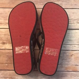 49ae95eb6 Brighton Shoes - BRIGHTON GLAM GIRLS WEDGE THONG FLIP FLOPS SANDALS